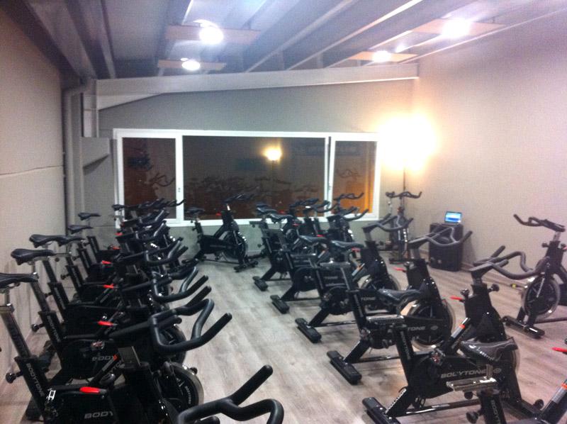 Nave prefabricada gimnasio Barbastro (Huesca) | Interior sala