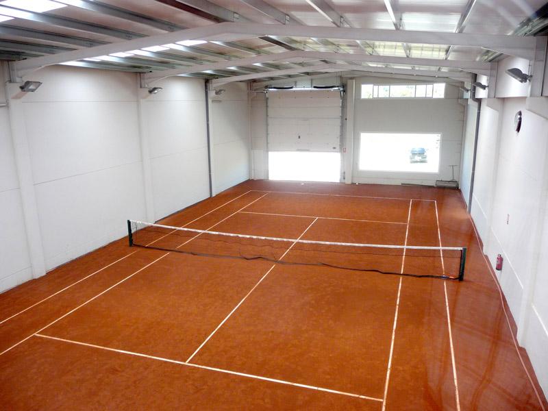 Nave prefabricada gimnasio Barbastro (Huesca) | Interior diurno