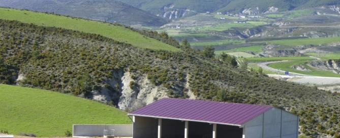 Nave ganadera prefabricada en Ulle (Huesca)