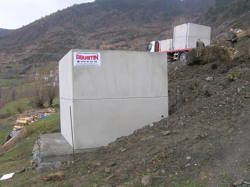 Depósitos modulares hormigón