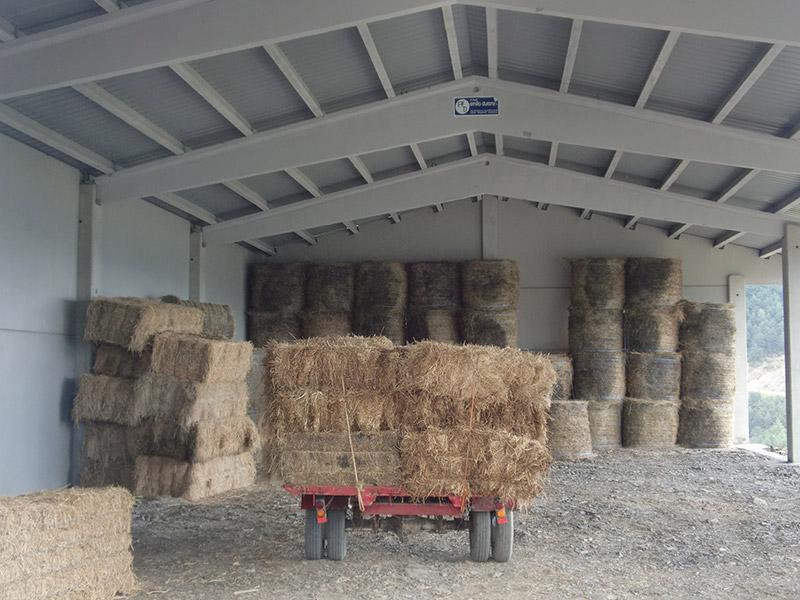 Nave agrícola prefabricada hormigón