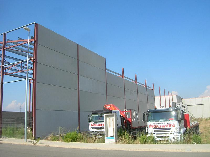 Paneles prefabricados para cerramiento de estructura metálica