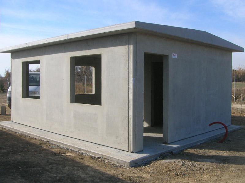 Caseta de campo hormigón prefabricado