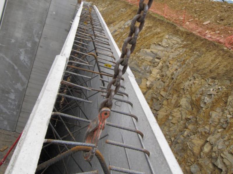 Muro doble hormigón prefabricado