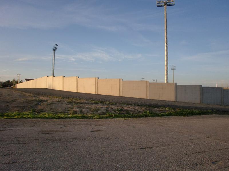 Muro prefabricado hormigón