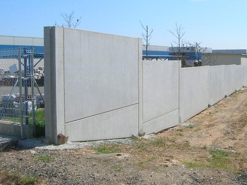 Muro de hormigon prefabricado
